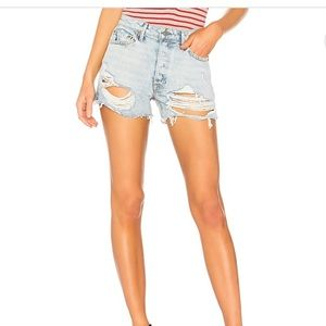 HELENA HIGH RISE STRAIGHT LEG SHORTS BRAND NEW!!
